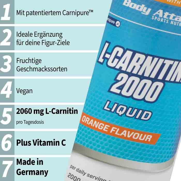 Body Attack L-Carnitine Info