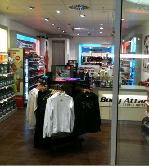Der neue Body Attack Premium Store Frankfurt
