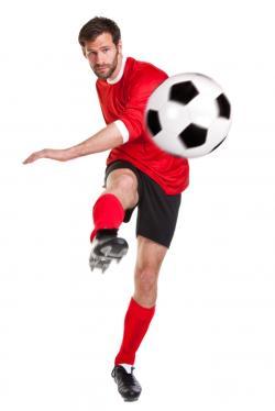 Fußballer - Auch Spitzensportler vertrauen auf Sportnahrung von Body Attack (Quelle: Shutterstock/RTimages)