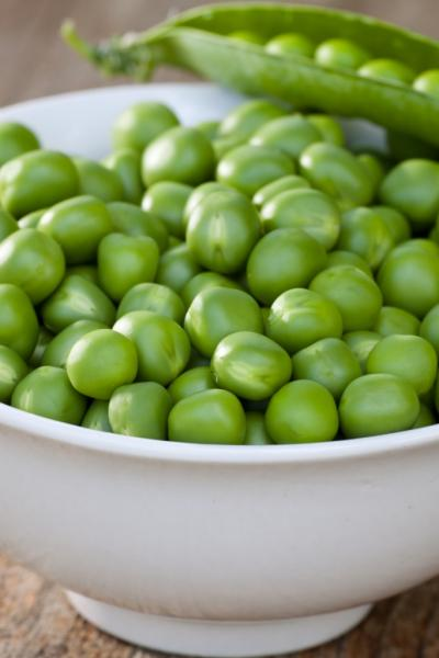 Leucin ist auch in Hülsenfrüchten wie Erbsen enthalten (Quelle: Shutterstock/Johannes Dag Mayer)