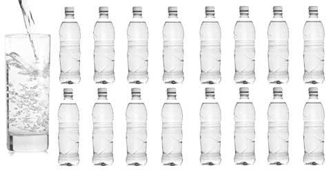 1 Dose Mineral Booster entspricht 16 Liter Getränk