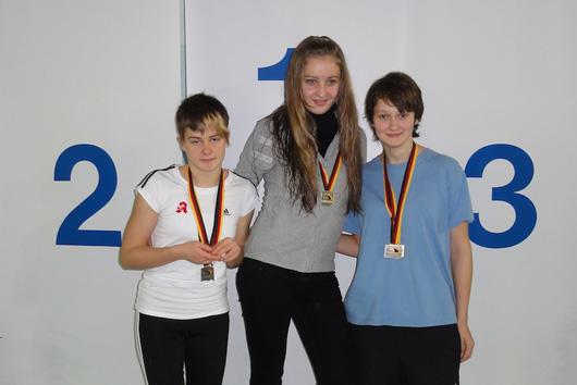 Saskia Valentin (links im Bild)