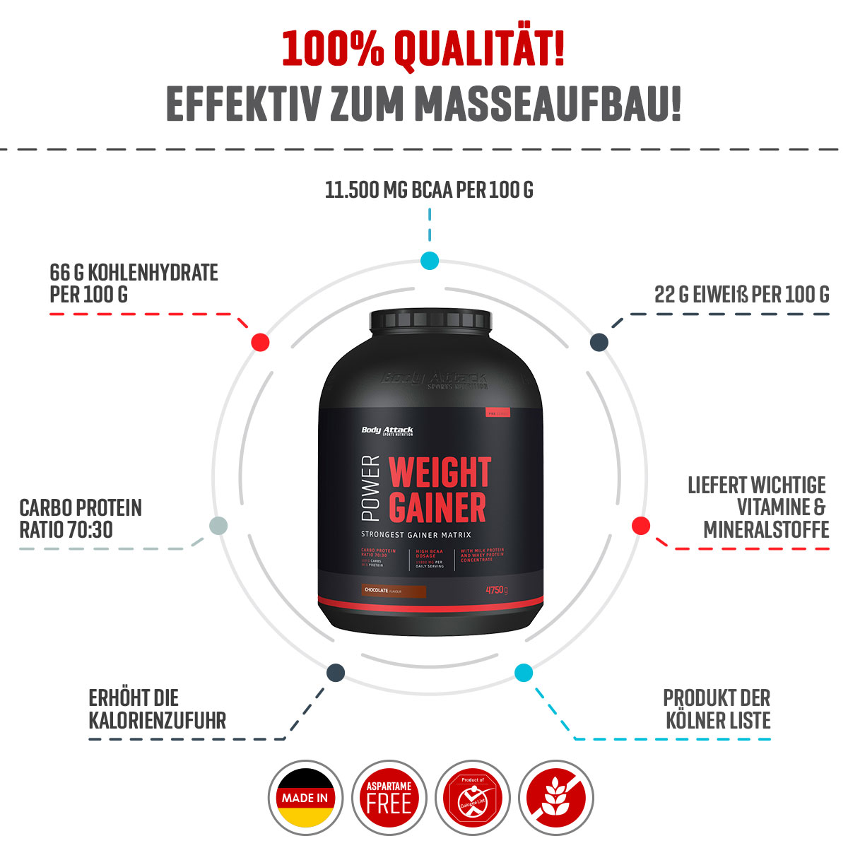Power Weight Gainer Info