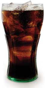 Koffeinhaltiges Getränk Cola