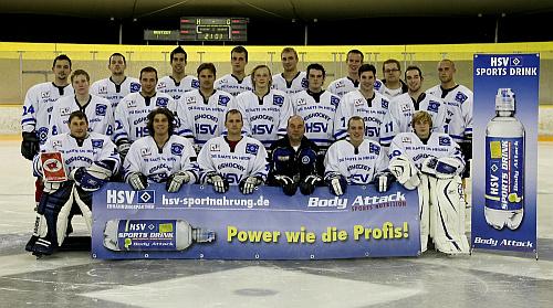 Die HSV Eishockeymannschaft