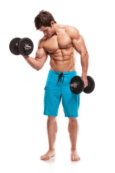 Muskulöser Mann (Quelle: Shutterstock/I T A L O)