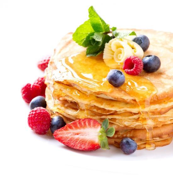 Serviervorschlag Pancakes